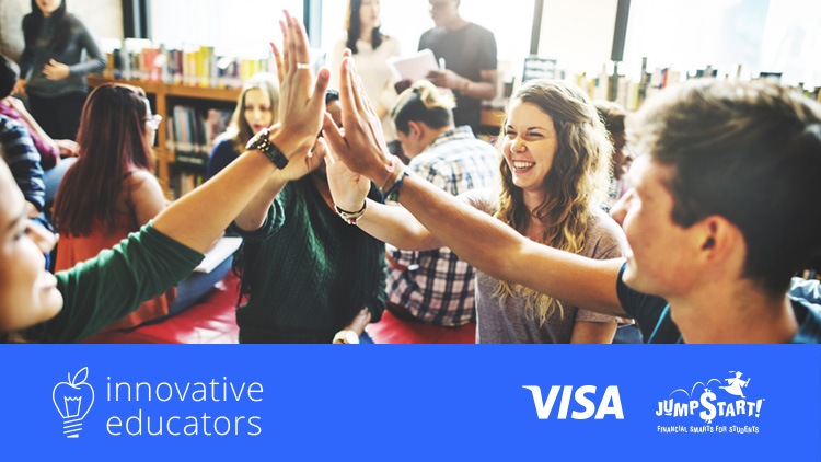 Visa Sponsors 6 Educators to Attend National Jump$tart Educator Conference